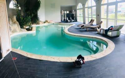 Une séance aquatique